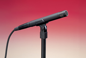 The AT4041 is an all-purpose small diaphragm condenser mic that works well on many acoustic instruments, including the guitar. 