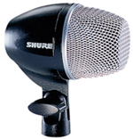 Shure's PG 52 is an entry-level bass drum mic that delivers solid performance.