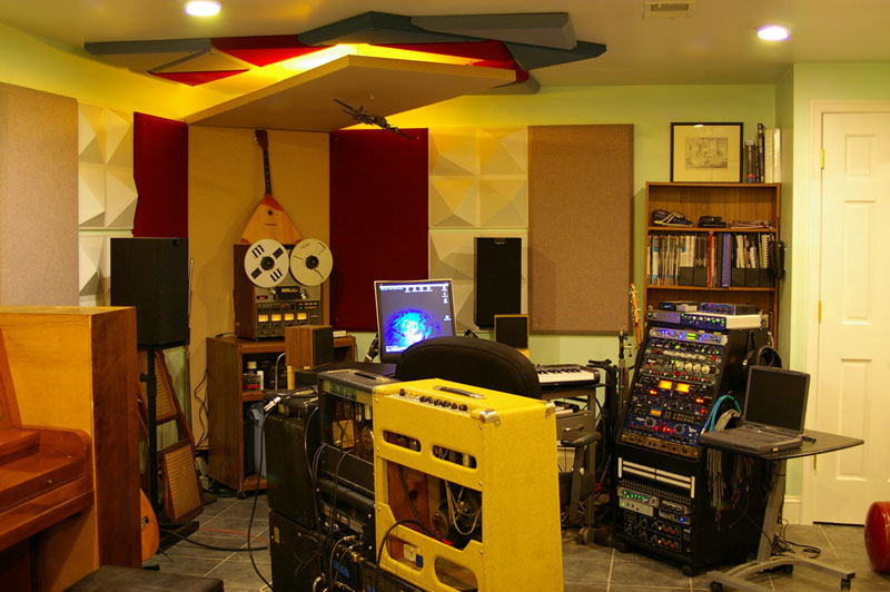 acoustic design for the home studio. Front View after Focus On Acoustics For Your Home Recordings  Disc Makers Blog