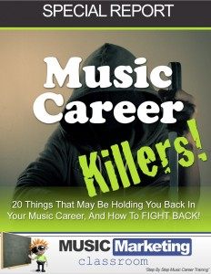 Chris Rockett's music career killers