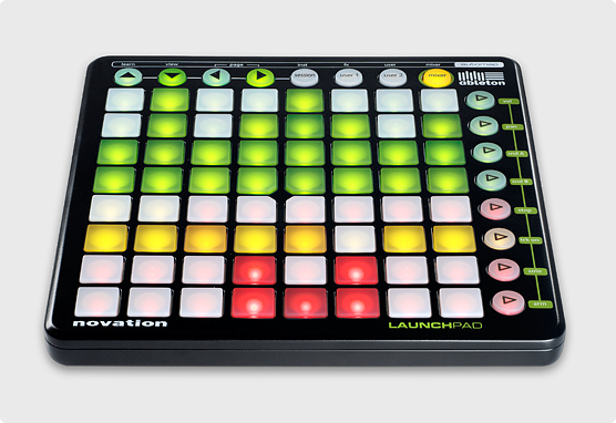 using midi controllers on stage disc makers. Black Bedroom Furniture Sets. Home Design Ideas