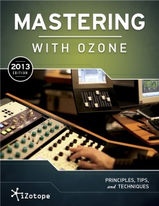 Audio mastering with iZotope