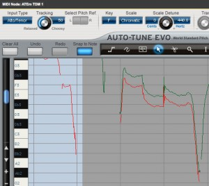Auto-tune make curve
