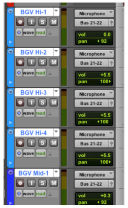 Shift + Option assigns the same input to all selected tracks.