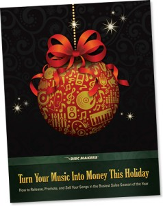 Make CDs and sell CDs this holiday