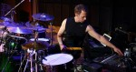 Dave Weckl mixing what would become a live album