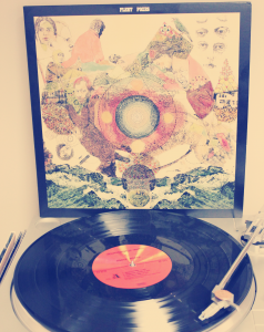 Fleet Foxes in it's vinyl record medium instead of CD.