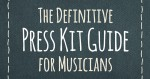 band press kit guide