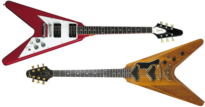 Gibson Flying V guitars