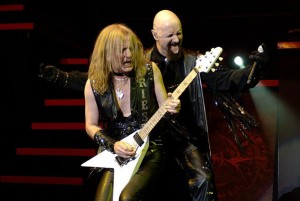 kk downing with a flying v