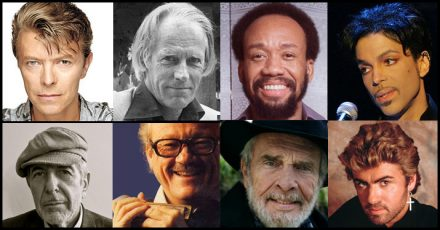 musicians who died in 2016