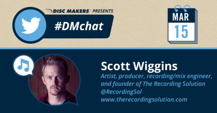 Scott Wiggins #DMchat