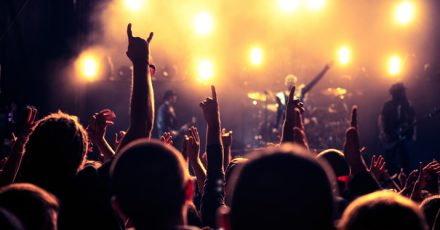use musical cues to lead your audience
