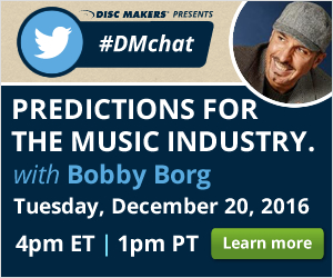 Disc Makers Twitter #DMchat