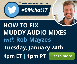 Disc Makers Twitter #DMchat16