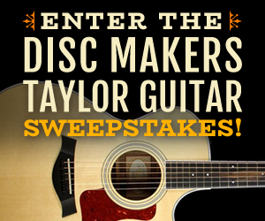 Enter the Disc Makers Taylor Guitar Sweepstakes!