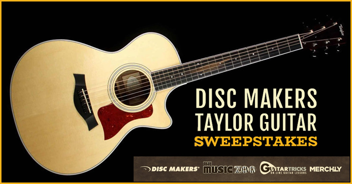 Taylor Guitar Sweepstakes