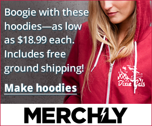 Merch.ly: Boogie with these hoodies—as low as $18.99 each. Includes free ground shipping!