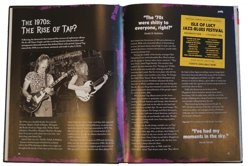 Spinal Tap The Big Black Book pgs 26-27