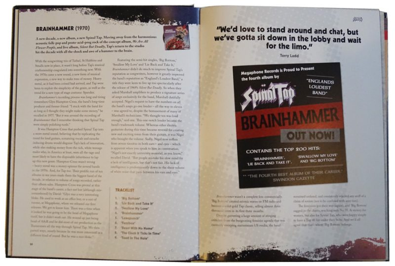 Spinal Tap The Big Black Book pgs 28-29