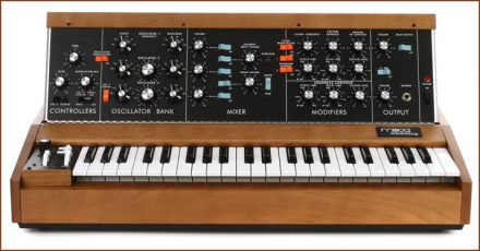 Minimoog analog synths