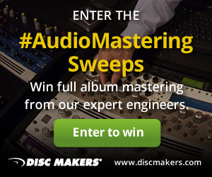 Enter the #AudioMastering Sweeps