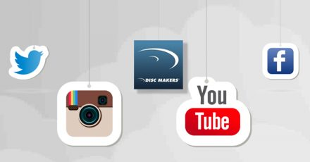 disc makers social media
