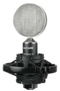 Cascade Audio's Fat Head II ribbon mic offers outstanding sonic performance for home and professional studio recording.