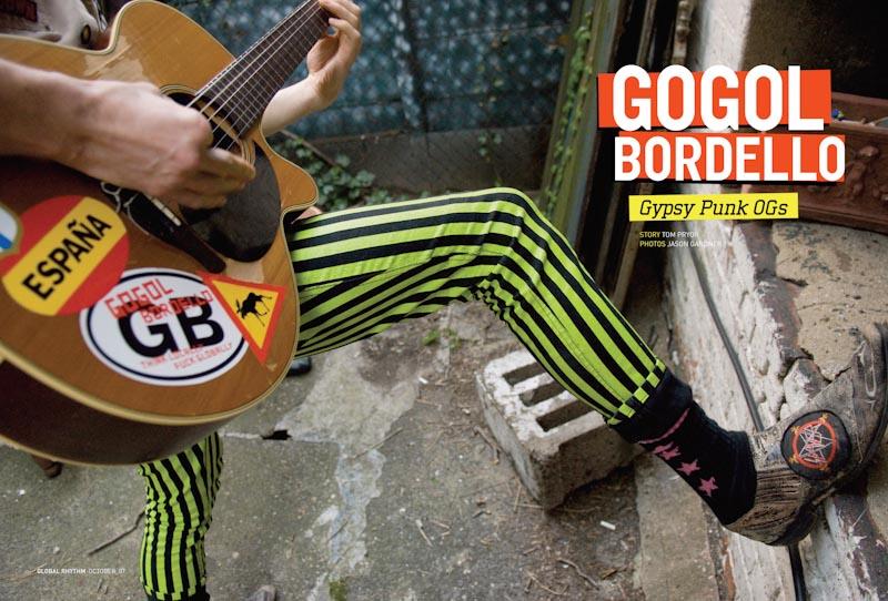 GR article - Gogol Bordello