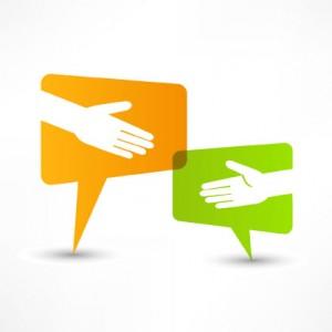 Digital PR Handshake