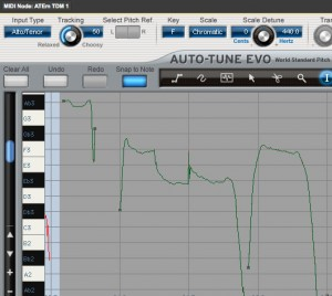 Auto-tune Make Curve function