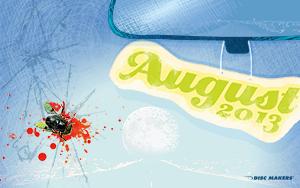 Disc Makers August Desktop Wallpaper. Depeche Mode Fly On The Windscreen