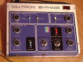 Mu-Tron's classic Bi-Phase pedal is still the gold standard for heavy duty phasing and flanging.