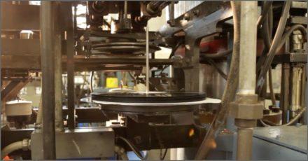 making vinyl records