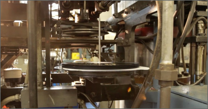 making vinyl records