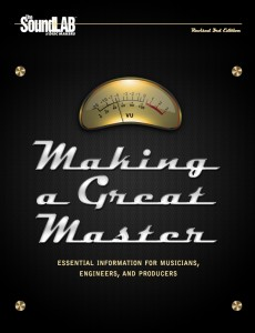 audio master formats