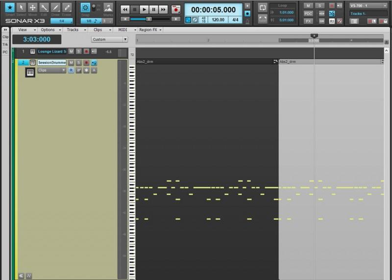 MIDI FAQ - Track View