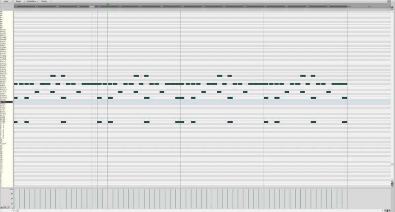 MIDI FAQ - Piano Roll View