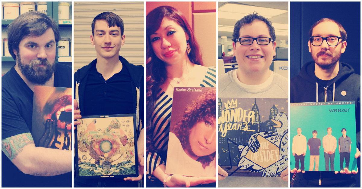 record store day collage