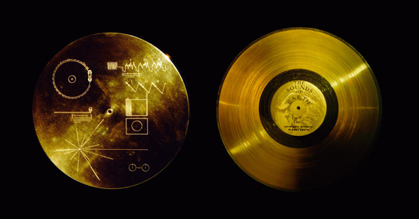 The Golden LP record