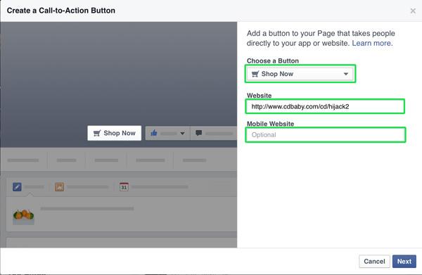 facebook marketing tip