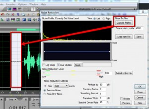 noise reduction home recording tip