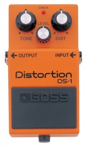 DS-1 effects pedals
