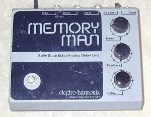 Memory Man effects pedals