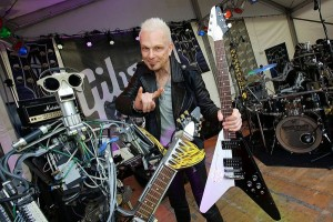 rudolf schenker with a flying v