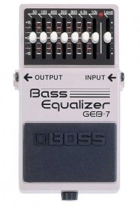 GEB-7 effects pedals