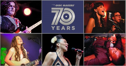 Disc Makers 70th Anniversary