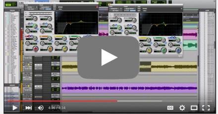 home studio audio mix
