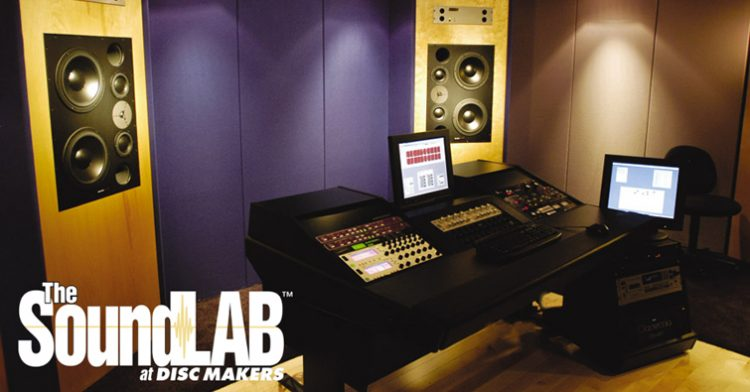 mastering gear at the SoundLAB