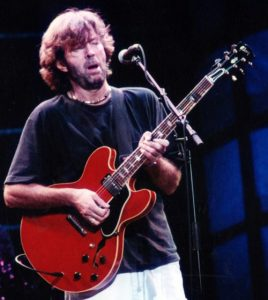 clapton playing his gibson 335